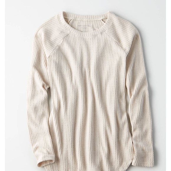 American Eagle Outfitters Sweaters - American Eagle Outfitters Waffle Knit Sweater